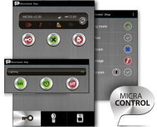 MICRA CONTROL – mobilna aplikacja do sterowania systemem alarmowym